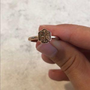 Rose Gold Kendra Scott Ring